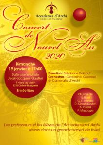 affiche concert nouvel an 2020